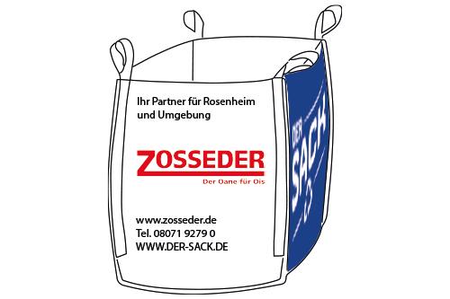 Der Sack für Gemischte Abfälle (Der Sack) im Landkreis Rosenheim